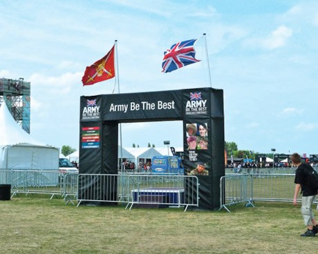 British Army event design