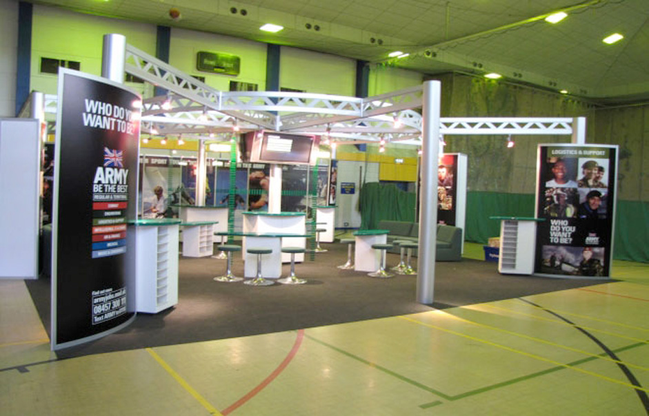 Modular Exhibition Stands Group : British army modular exhibition stand