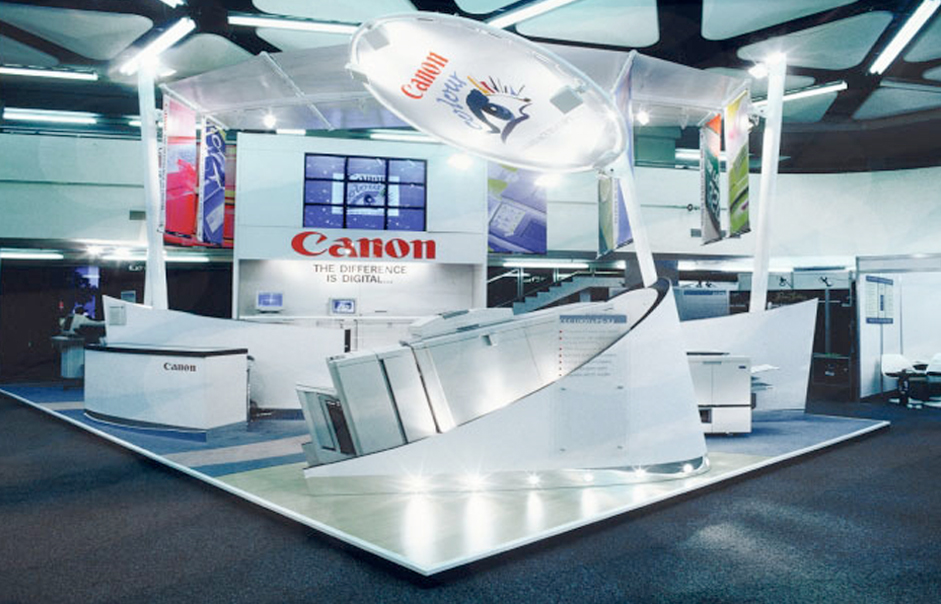 Exhibition Stand Design Northamptonshire : Canon exhibition stand designs