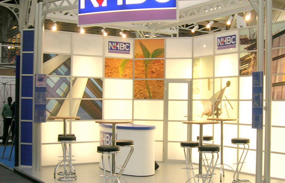 Modular Exhibition Stands London : Nhbc modular exhibition display