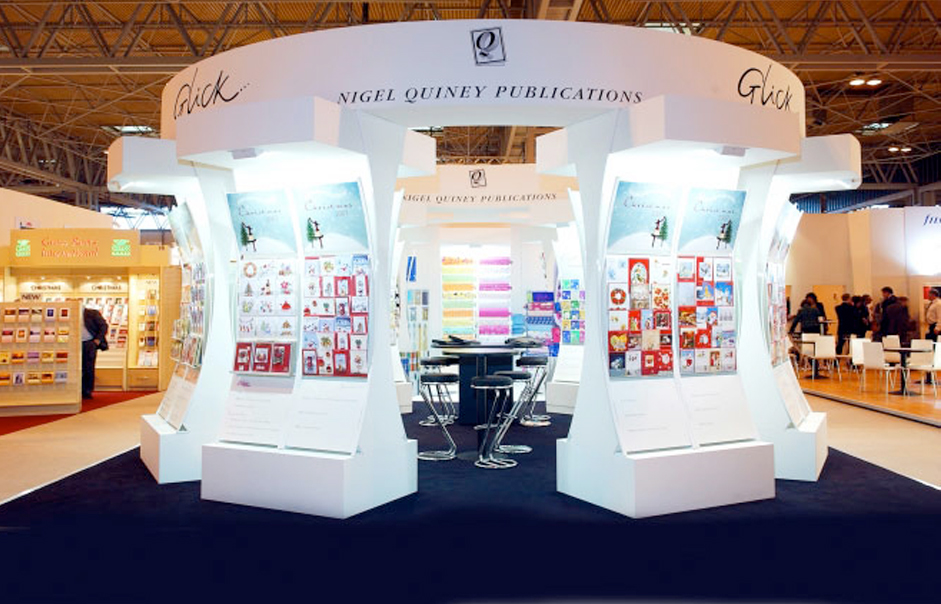 Exhibition Stand Design Peterborough : Nqp custom exhibition booth design
