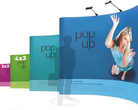 Portable Systems and Pop up Stands