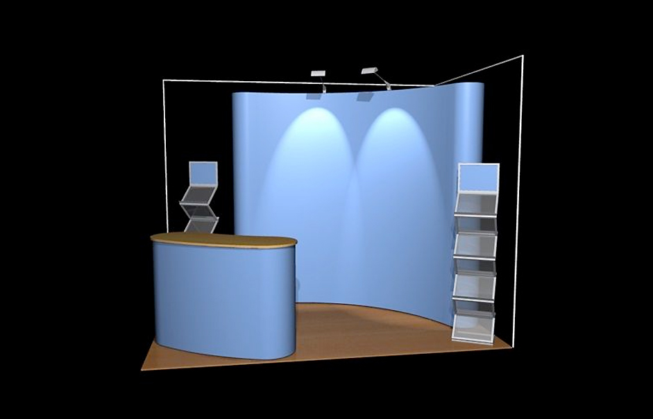 Pop Up Exhibition Stand Design : Pop up shell scheme exhibition and display stand designs