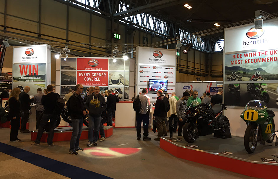 Exhibition-stand-for-Bennetts-Motorcycle-Insurance-@-Motorcycle-Live-2014-1