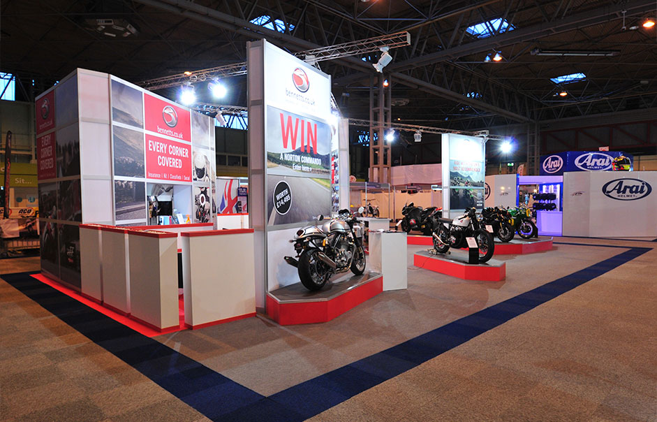 Exhibition-stand-for-Bennetts-Motorcycle-Insurance-@-Motorcycle-Live-2014-3
