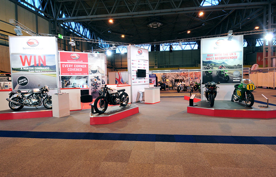 Exhibition-stand-for-Bennetts-Motorcycle-Insurance-@-Motorcycle-Live-2014-4