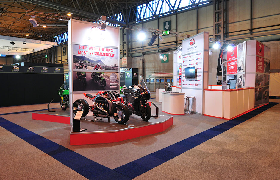 Exhibition-stand-for-Bennetts-Motorcycle-Insurance-@-Motorcycle-Live-2014-5