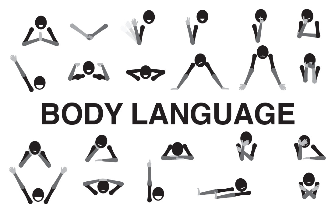 Body language's importance