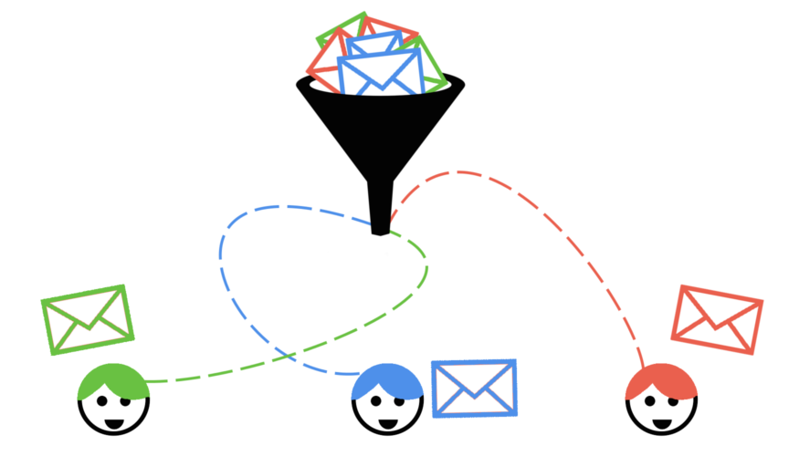 segmented emails to target audience
